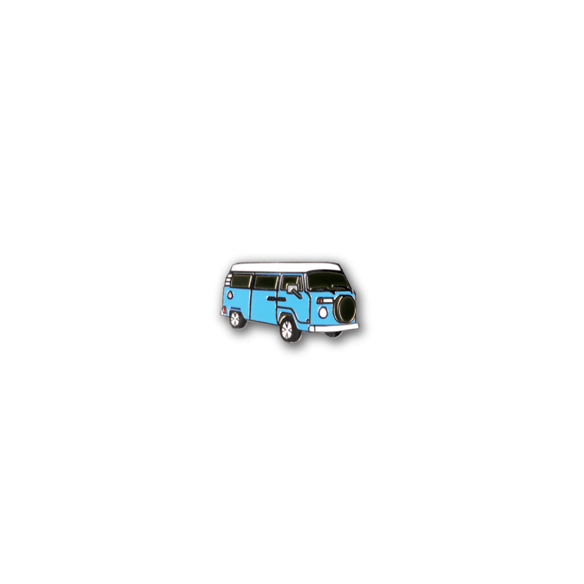 Brooch Mini Bus – Sky Blue